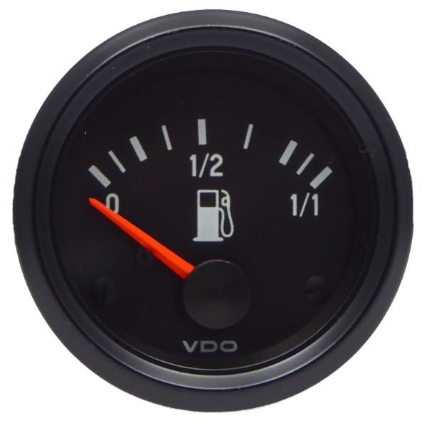 "VDO ""international"" Kraftstoffvorratsanzeige für Hebelgeber 24V d=52mm"