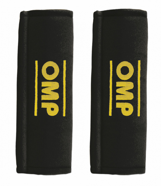OMP Gurtpolster 3 Zoll (75mm) - schwarz
