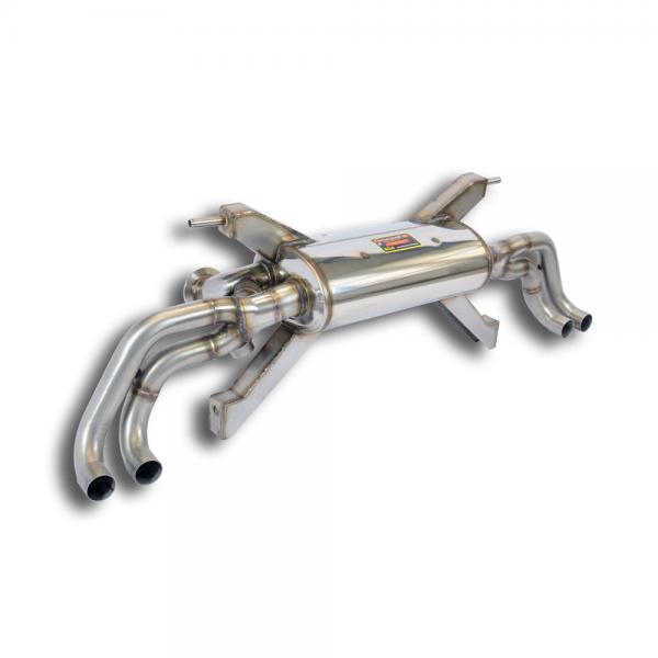 Supersprint Endschalldämpfer Rechts - Links mit Klappe für LAMBORGHINI GALLARDO LP 570-4 Coupe / Spider / Superleggera 5.2i V10 10-