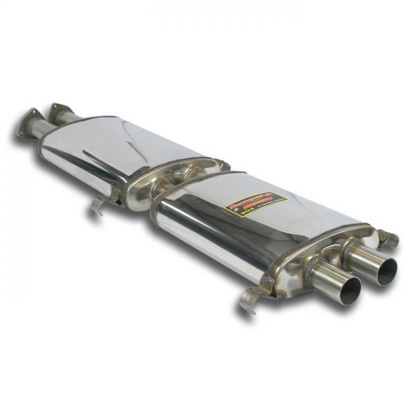 Supersprint Vorschalldämpfer + Mittelschalldämpfer Rechts (2 Schalldämpfer) - Verfügbar auf Anfrage für FERRARI 365 GTC/4 1971-