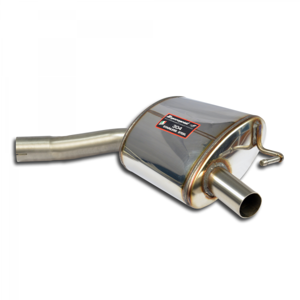 Supersprint Endschalldämpfer Sport Rechts für MERCEDES C205 C 400 4-Matic (3.0i V6 Bi-Turbo 333 PS) 2015-