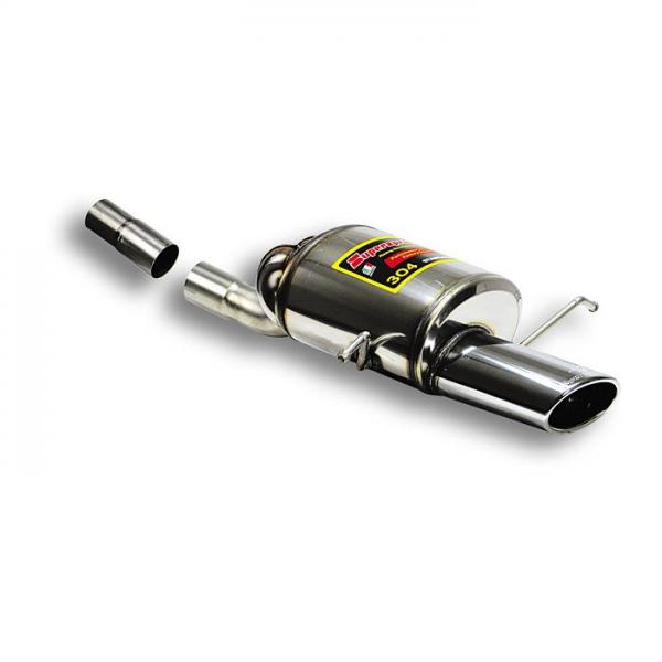 Supersprint Endschalldämpfer Power Loop 145x95 für MERCEDES CL203 Sportcoupe C350 V6 05- 08