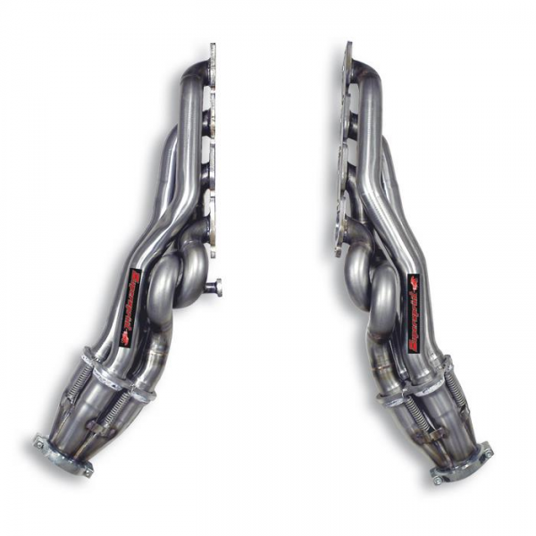 Supersprint Fächerkrümmer Rechts - Links - (Left Hand Drive) für RANGE ROVER SPORT 4.2i V8 Supercharged (Motore FORD) 05- 09