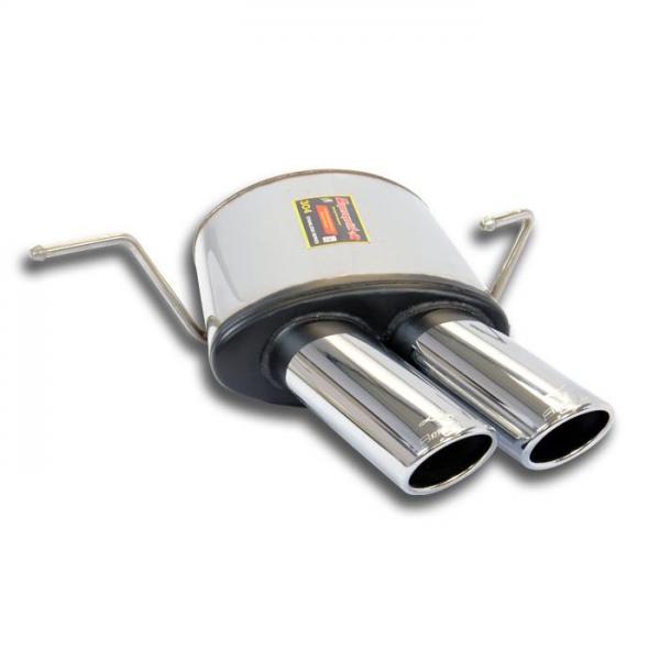 Supersprint Endschalldämpfer Links 90x70 für MASERATI Spyder 4.2i V8 (390 PS) 2002- 2004