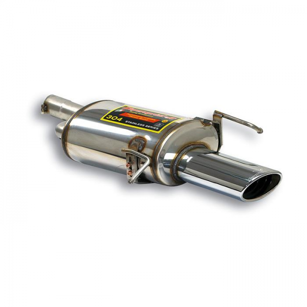 Supersprint Endschalldämpfer 145 x 95 für MERCEDES W209 CLK 240 V6 (170 PS) 02-