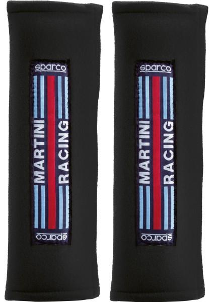"""SPARCO Gurtpolster 3"""" -Martini Racing- schwarz"""