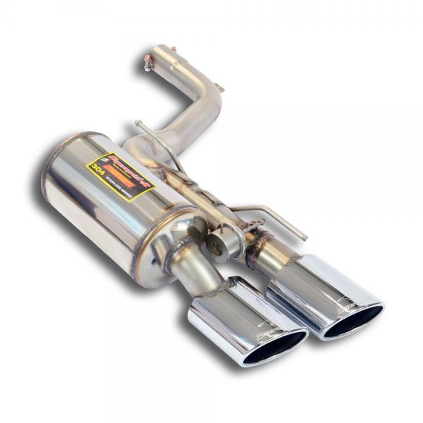 Supersprint Endschalldämpfer Links mit Klappe für MASERATI Ghibli S 3.0i V6 (410 PS) 2013-