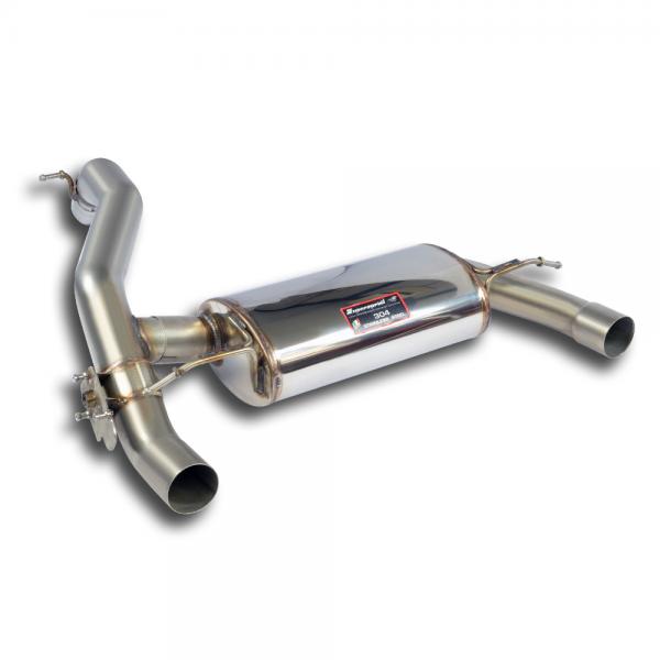 Supersprint Endschalldämpfer mit Klappe für FORD FOCUS RS 2.3i Turbo 4x4 (350 PS) 2015-