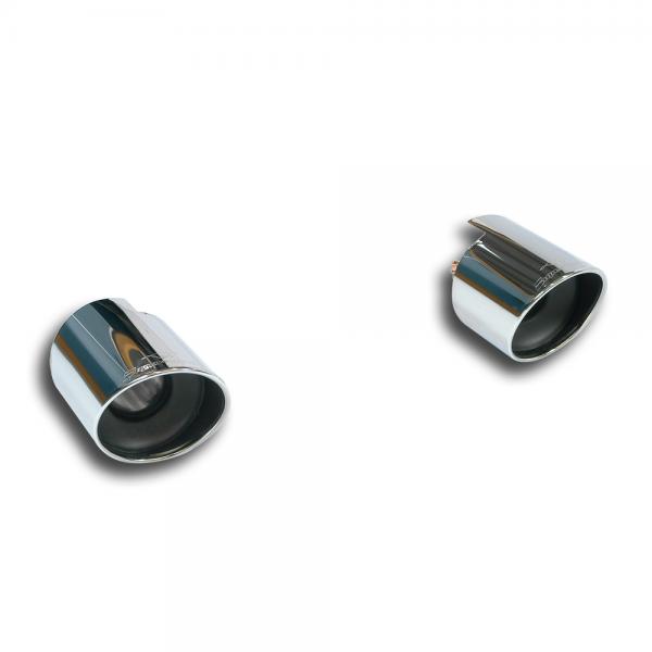 Supersprint Endrohrsatz Rechts - Links O 120 für FORD FOCUS RS 2.3i Turbo 4x4 (350 PS) 2015-