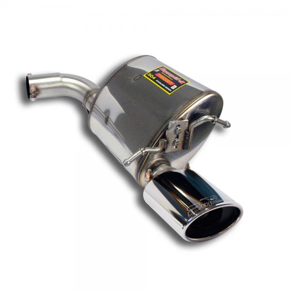 Supersprint Endschalldämpfer Rechts 145x95 für MERCEDES A207 E 350 CDI Cabrio (231 PS/265 PS) 2009- 2013
