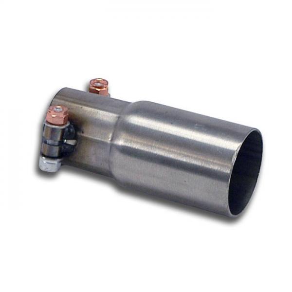 Supersprint Verbindungsrohr für Serien Mittelschalldämpfer für FORD FIESTA RS 1.6i Turbo (182 PS) 2012-