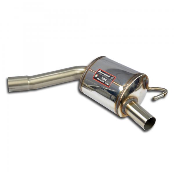 Supersprint Endschalldämpfer Race Rechts für MERCEDES W205 C 200 4-Matic (2.0i Turbo 184 PS) 2015-