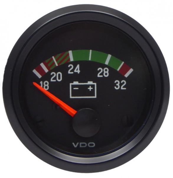 "VDO ""international"" Voltmeter 24V d=52mm 16-32 Volt"