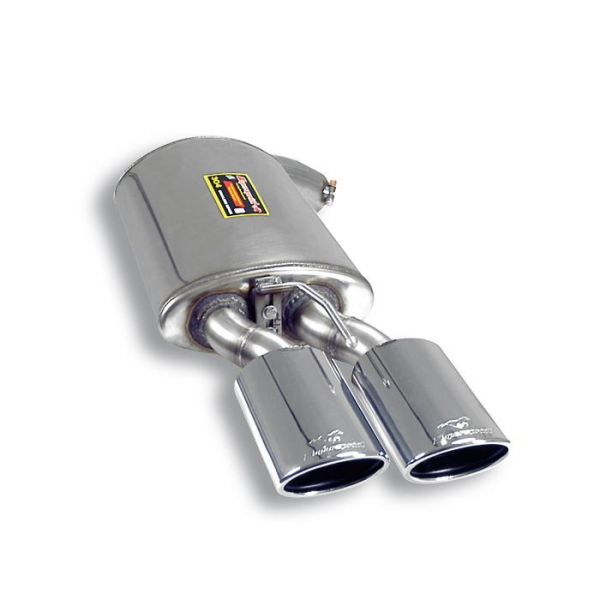 Supersprint Endschalldämpfer Links 120x80 für MERCEDES W221 S350 V6 05- 08