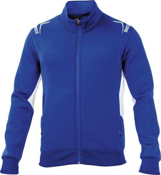 Sparco Jacke Full Zip - blau