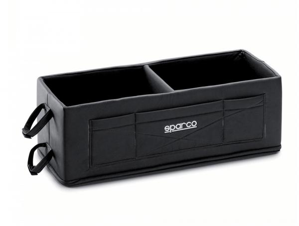 Sparco Helmbox für 2 Helme - schwarz