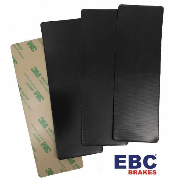 EBC Geräusch-Dämmplatten für Bremsbeläge ca. 153 x 51mm